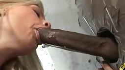 Porta Gloryhole Teen Interracial Cumming