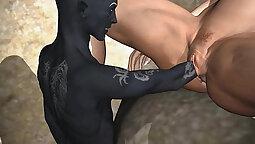 Nice Horny Civilian Teen Toon Babe