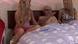 Cfnm sluts pounded before jerking