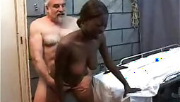Ebony Teen Gets Her Perverted Pussy Fucked Balls Deep In One Hole Video