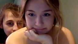 Big sister does webcams with her beautiful stepbrother