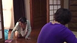 Badass Japanese mom nipples on Corsy