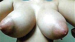 big boobed queental with big natural tits